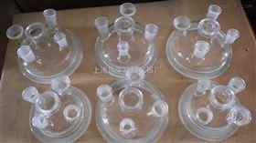 玻璃五口开口反应器盖