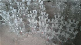 玻璃双层反应釜