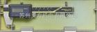 500-463三丰Mitutoyo太阳能防水无原点数显卡尺500-463