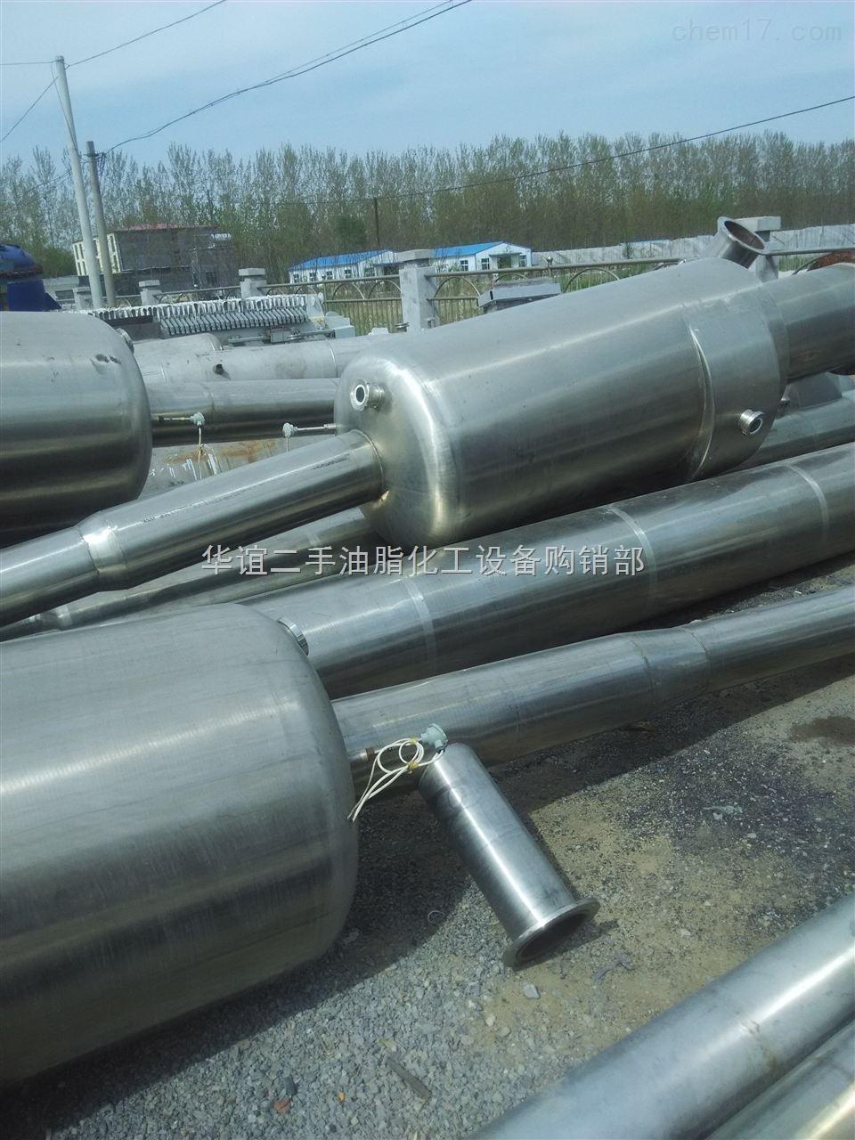 每小时1吨-25吨蒸发量-二手多效降膜降膜蒸发器