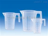 德国VITLAB®有柄刻度烧杯,可堆叠,PP