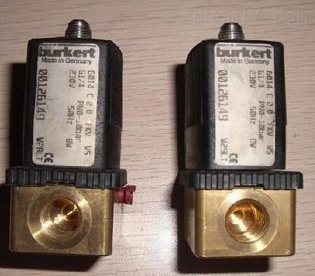 两位三通电磁阀, 带转动衔铁