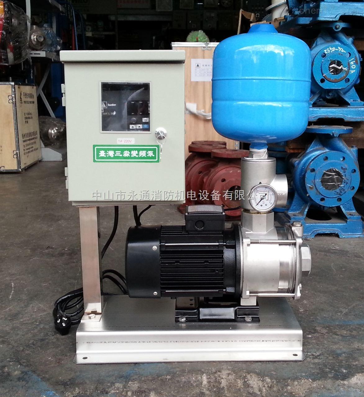 smi10-3不锈钢离心泵专用变频器 变频供水稳压设备