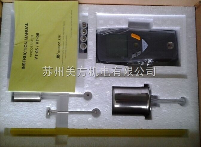 VT-06日本RION理音数显粘度计VT-06旧型号VT-04F粘度计
