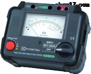 KEW3121B/3122B指针式高压绝缘测试仪