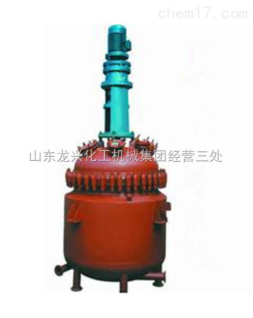油加热搪瓷反应釜 电加热搪瓷反应釜