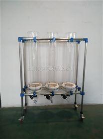 层析过滤装置 不锈钢过滤网可拆卸 吸附柱 离子交换柱