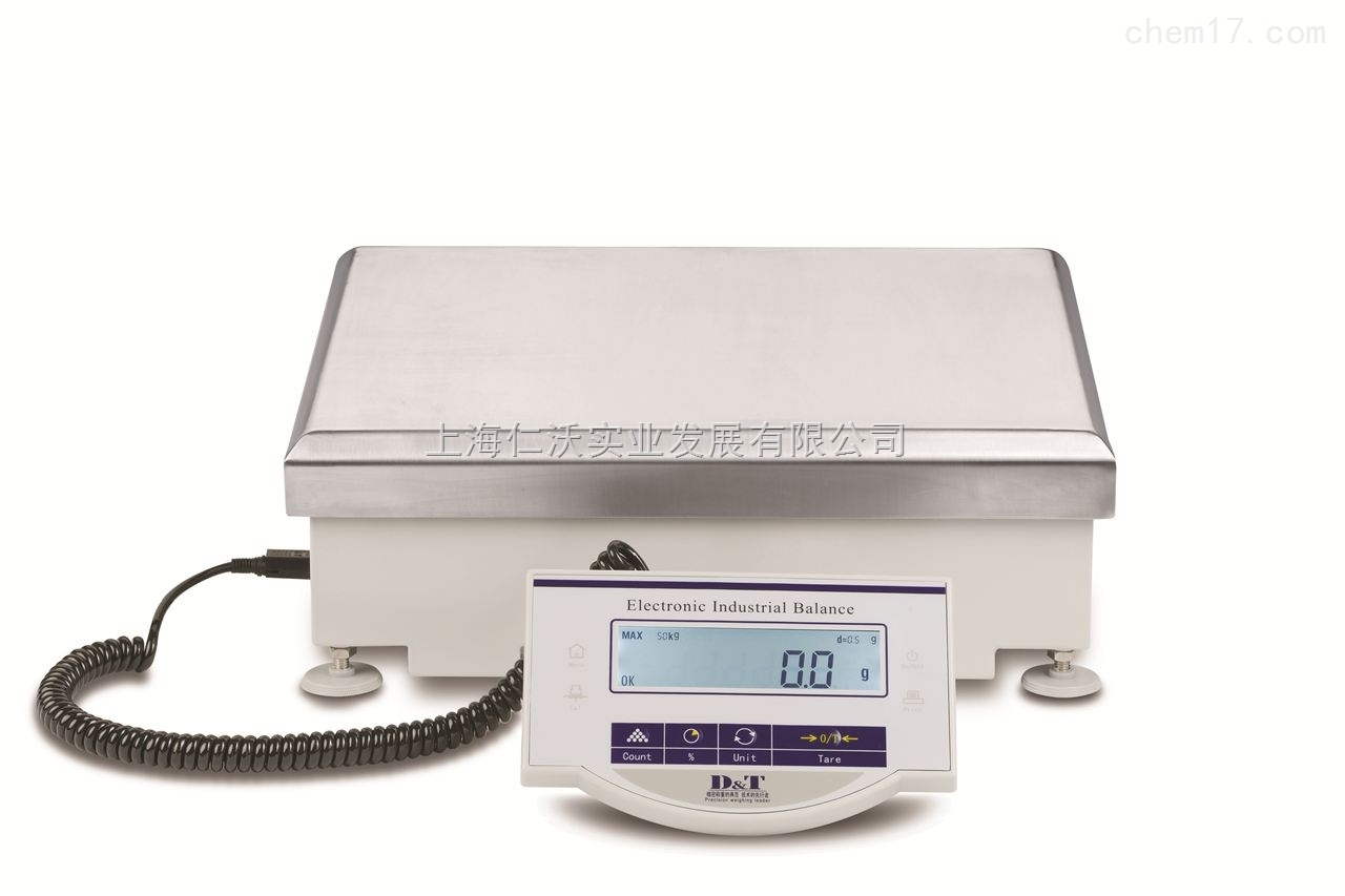 D&T品牌ES20K电子秤max:20kg/d=0.1g