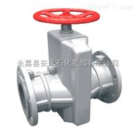 GJ41X铝合金管夹阀 手动矿浆管夹阀 夹管阀