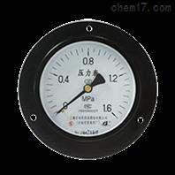 Y-100ZT轴向带边压力表