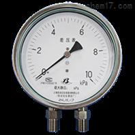 CYW-152B不銹鋼差壓表