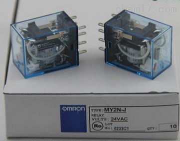 欧姆龙中间继电器my2nj dc100/110