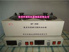 DF-2CD两孔磁力搅拌油浴锅