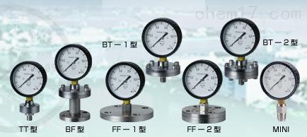 右下精器MigishitaSeiki隔膜式压力计