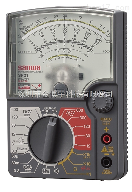 sanwa日本三和sp21模拟指针式万用表