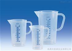 进口塑料带把刻度烧杯VITLAB德国进口PP刻度带把手烧杯