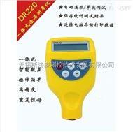 DR220涂層測厚儀一體式涂層測膜儀汽車表面油漆厚度測試儀