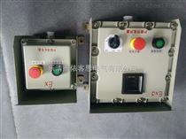 数显表防爆控制按钮箱两钮一开关一表带防雨罩价格