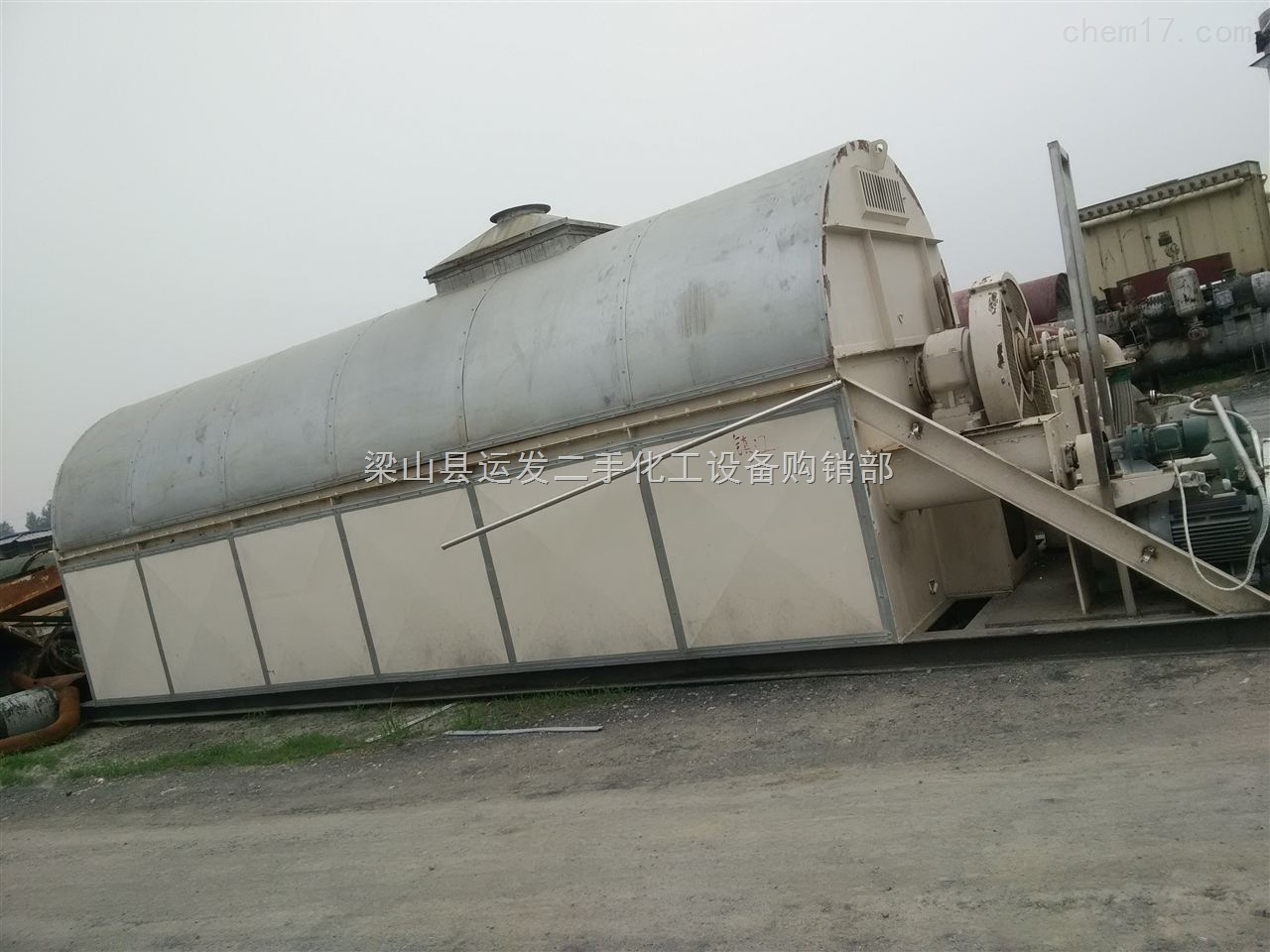 二手500平方管束干燥机供应