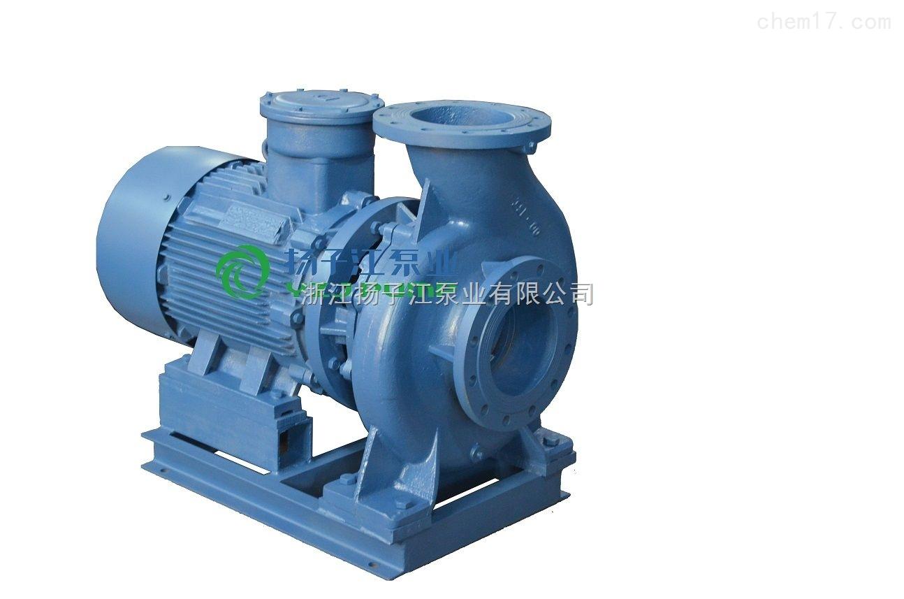 油泵:ISWB卧式单级单吸防爆油泵|卧式管道油泵