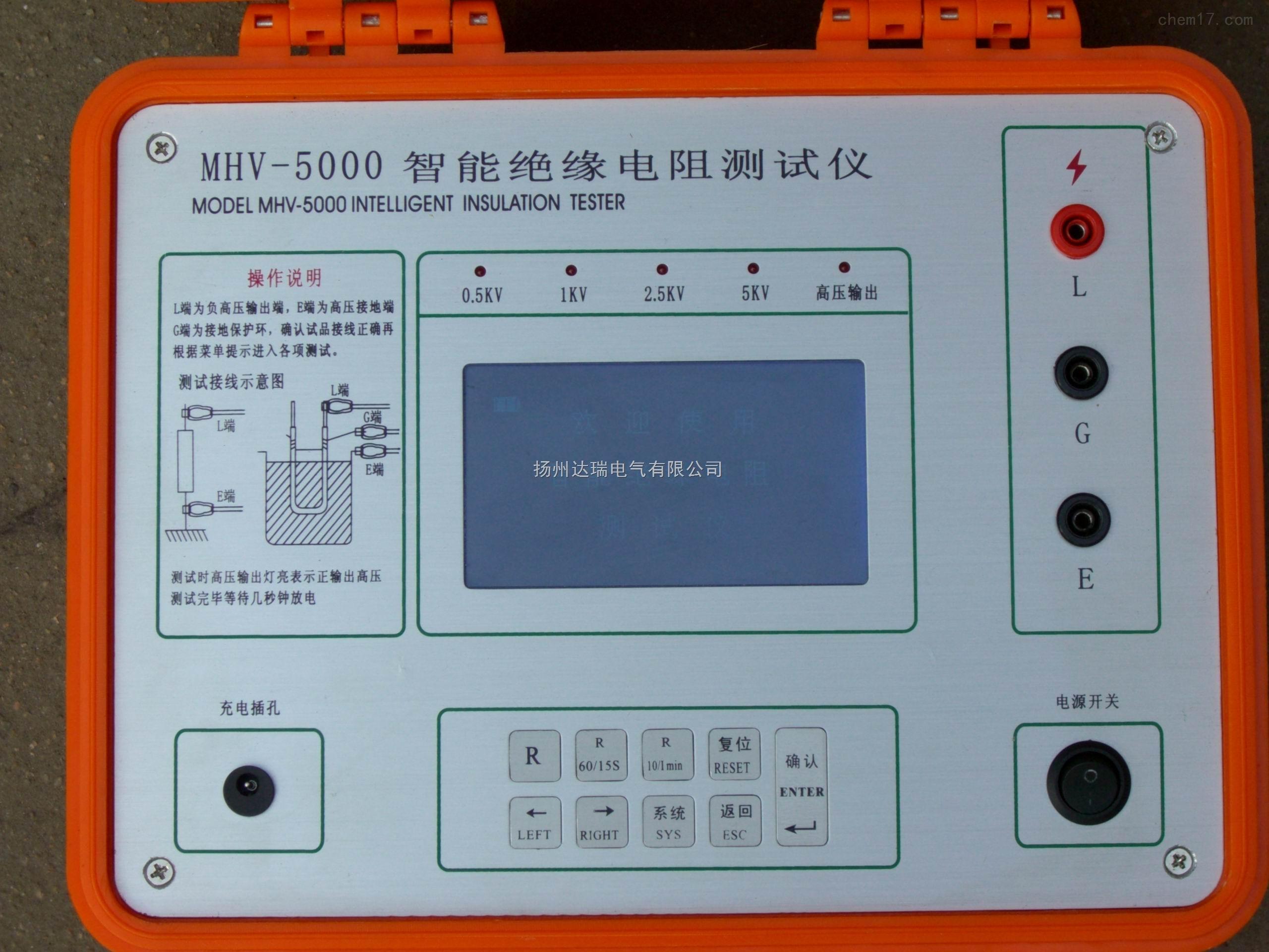 2550型绝缘电阻测试仪