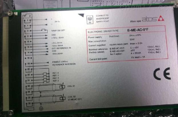 阿托斯ATOS放大器分类