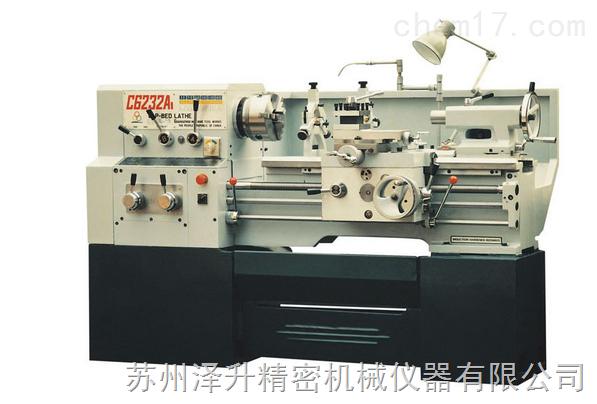 C6132A1/C62312A1广州车床的特点及用途: C6132A1/C62312A1广州车床的型号及技术参数:  C6132A1/C62312A1广州车床安全操作规程 (1) 工作前按规定润滑机床,检查各手柄是否到位,并开慢车试运转五分钟,确认一切正常方能操作。 (2)卡盘夹头要上牢,开机时扳手不能留在卡盘或夹头上。 (3)工件和刀具装夹要牢固,刀杆不应伸出过长(镗孔除外);转动小刀架要停车,防止刀具碰撞卡盘、工件或划破手。 (4)工件运转时,操作者不能正对工件站立,身不靠车床,脚不踏油盘。 (5)