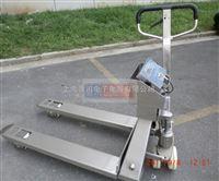 全不锈钢打印叉车秤厂家3吨不锈钢叉车秤多少钱