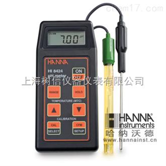 哈纳HI8424微电脑酸度pH-氧化还原ORP-温度°C测定仪