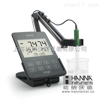 哈纳HI2020微电脑酸度pH/mV-温度℃测定仪