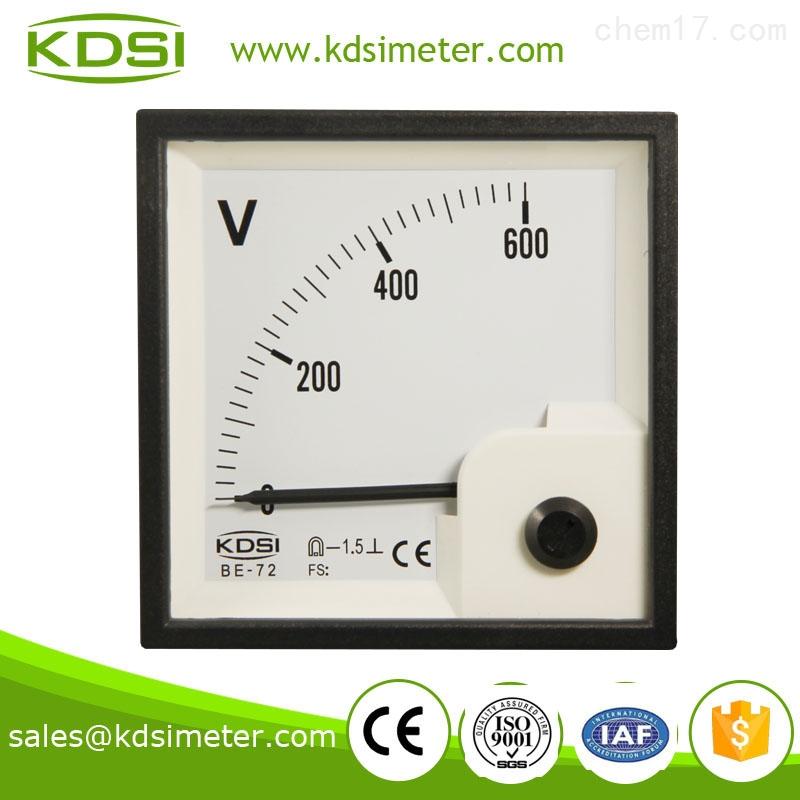 be-72-电压表头 直流电流电压表 be-72 dc600v 配电柜