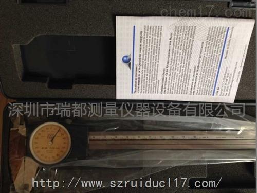 瑞士TESA带表卡尺00510004 量程0-150mm