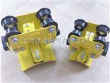 刮泥机供电导轨 C40电缆滑轮 不锈钢C型钢电缆轨道 防酸吊滑轮