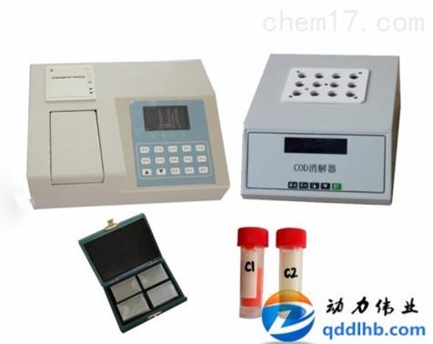 COD检测仪 DL-500型COD快速测定仪测量范围中标参数