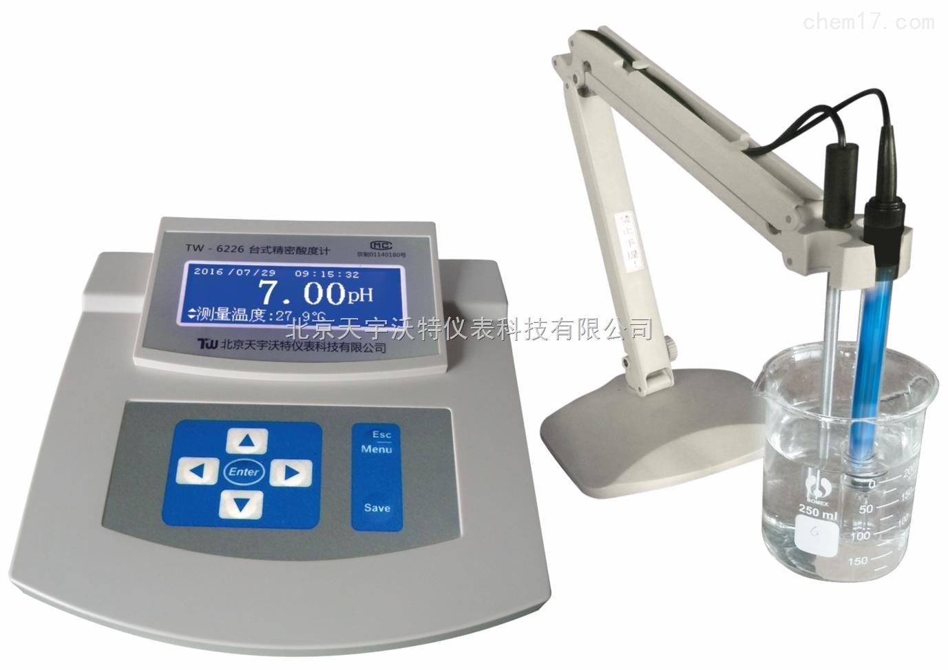 TW-6226台式精密酸度计价格