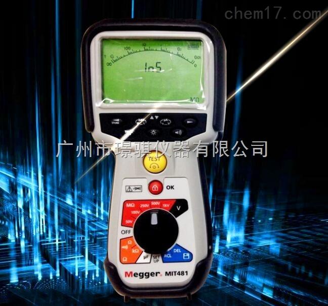 美國原裝MIT418絕緣電阻測試儀