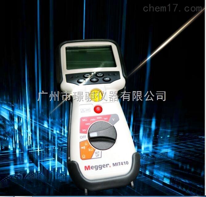 美國原裝MIT410 絕緣電阻測試儀