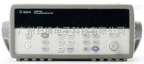 34970A数据采集器34970A系列采集器记录仪美国安捷伦Agilent