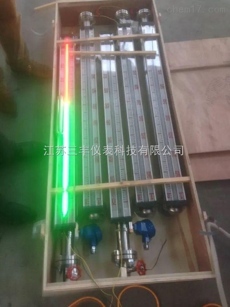 LED磁敏电子双色磁翻板液位计