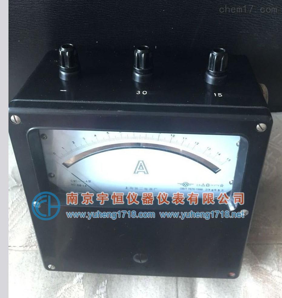 c21-a c19-a直流安培表 电流表