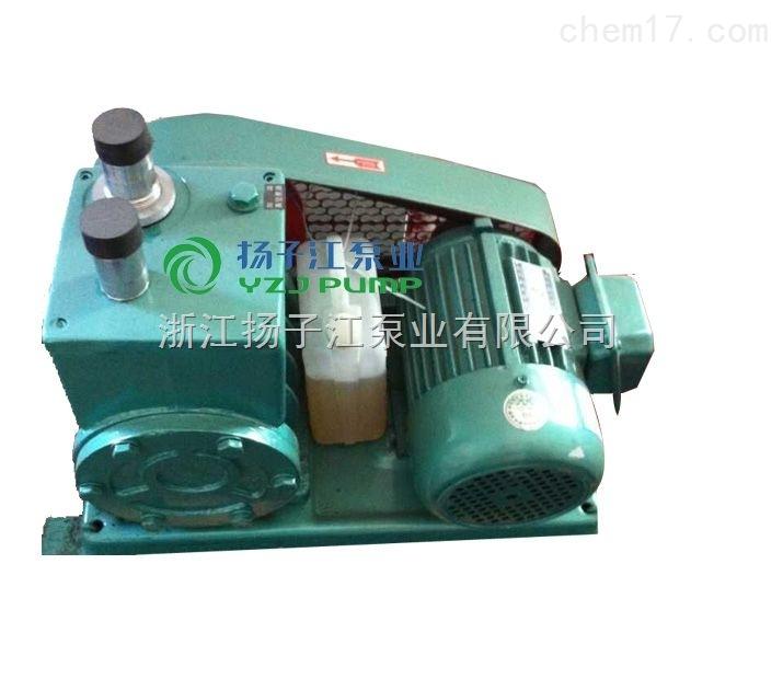 厂家直销 2x-70B高效旋片真空泵 低噪音5.5KW电动气体传输泵
