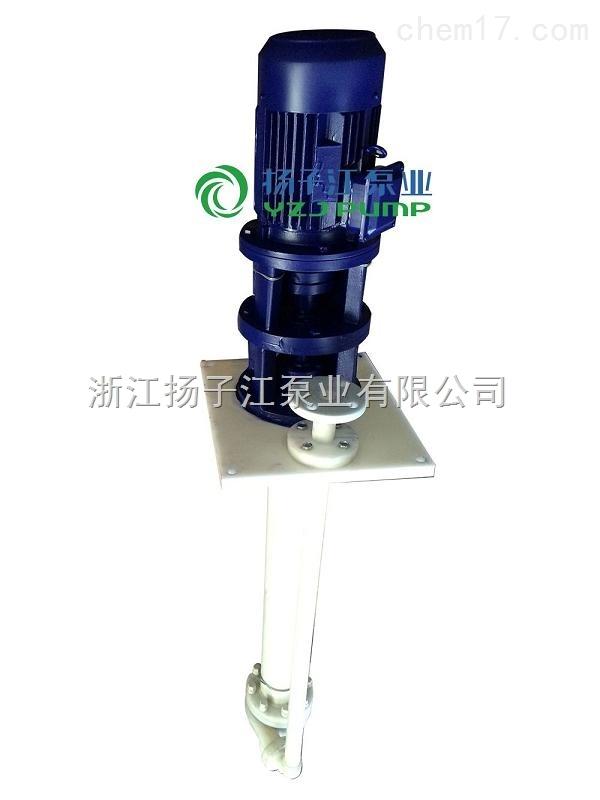 FYS型增强聚丙烯液下泵/工程塑料耐腐蚀液下泵