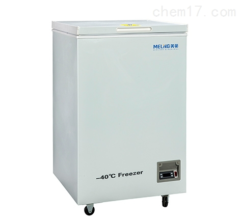卧式顶开门DW-FW110型-40度低温冰箱厂家