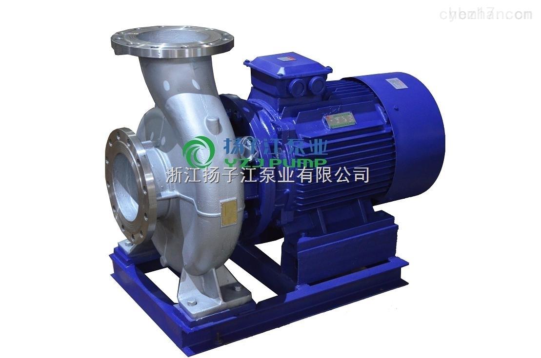ISWH65-250ISWH卧式不锈钢管道离心泵 耐腐蚀管道泵 化工离心管道泵