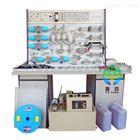 YPK-M插孔式木桌液压PLC控制实验台|液压气动实验台