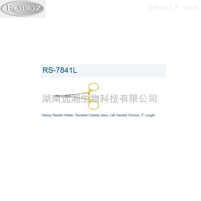 Roboz持针钳RS-7841L Roboz代理 Roboz手术器械