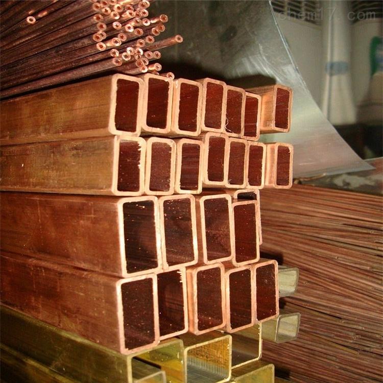 石家庄紫铜方管价格,脱脂铜管价格