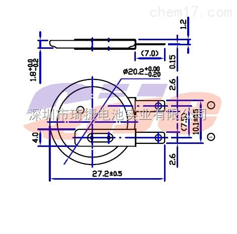 cr2016电池焊脚 cr2016纽扣电池可加脚_配件耗材_电源