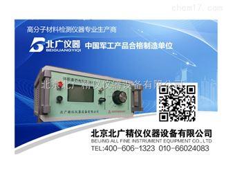传统的高阻计的工作原理是测量电压v固定,通过测量流过取样电阻的电流