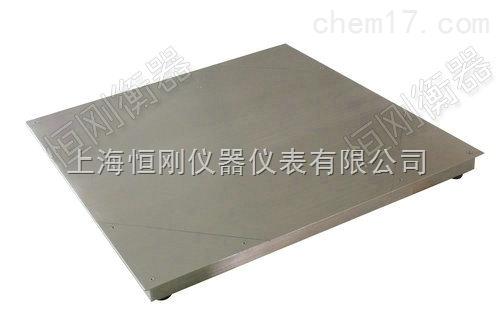 2米双层地磅秤 双层碳钢电子磅
